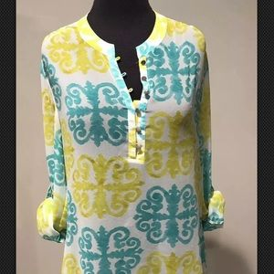 Milly for banana republic tunic sz 8